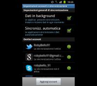 Immagine di copertina - Account integrati in Android